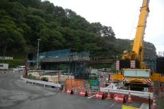 三陸鉄道の工事風景